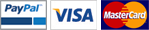 We now securely accept PayPal, VISA and MasterCard